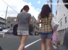 تلميذة يابانية ضئيلة تأكل الجدة كس الرطب