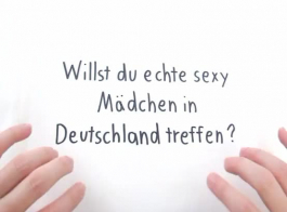 مثير الألمانية في سن المراهقة مع ديك عذراء حلق جيدا على حضنها