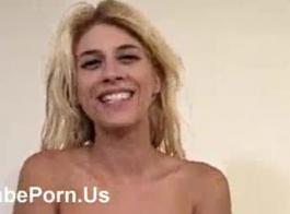 ضخمة الثدي والحمار الصغيرة في سن المراهقة لاتينا خيمينا لاغو يحصل يعاقب بشدة