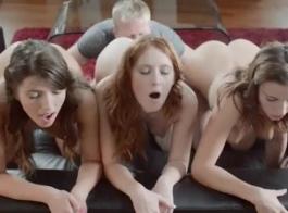 تايلر نيكسون يمارس الجنس مع المناظر الطبيعية باعتباره جبهة مورو ويتم التقاطه والعودة إلى المنزل لممارسة الجنس الجماعي الساخن