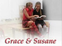 تلميذات الحسية هي مص الديك الثابت أفضل دراسة صديق، بينما في الفصول الدراسية.